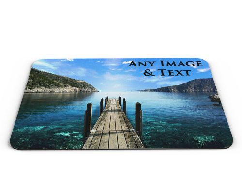 Personalised Computer PC Mousemat Any Picture & Text